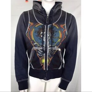 True Religion x Grateful Dead Bertha Hoodie RARE